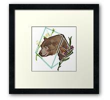 Monarch, California Grizzly Bear Framed Print