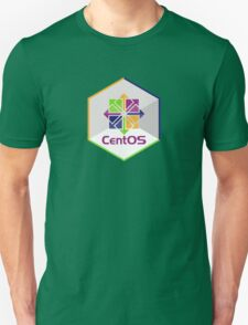 centos linux hexagonal hexagon Unisex T-Shirt