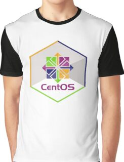 centos linux hexagonal hexagon Graphic T-Shirt