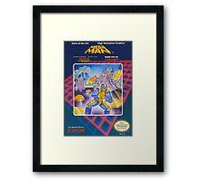 MegaMan NES Framed Print