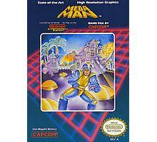 MegaMan NES Photographic Print