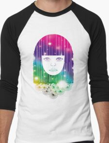 Space Girl Men's Baseball ¾ T-Shirt