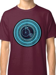 Vintage bicycle Mandala Classic T-Shirt
