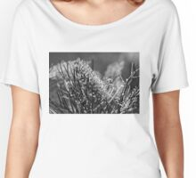 Grevilleas in black and white  Women's Relaxed Fit T-Shirt