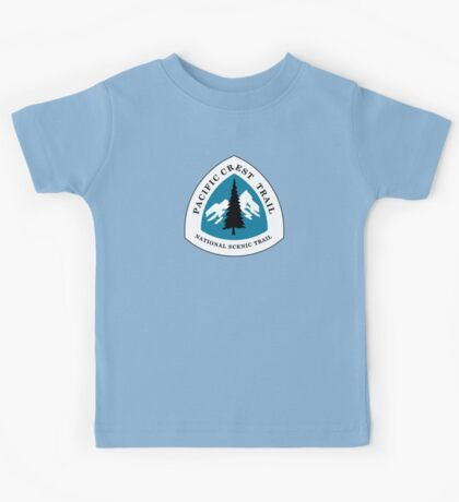 Pacific Crest National Scenic Trail Sign, USA Kids Tee