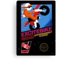 EXCITEBIKE NES Canvas Print