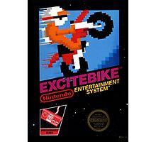 EXCITEBIKE NES Photographic Print