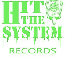 Hit The System - Green Photographic Print