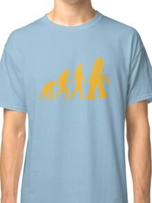 Sheldon Cooper - The Big Bang Theory Robot Evolution Classic T-Shirt
