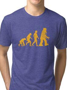 Sheldon Cooper - The Big Bang Theory Robot Evolution Tri-blend T-Shirt