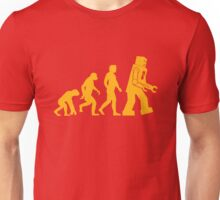 Sheldon Cooper - The Big Bang Theory Robot Evolution Unisex T-Shirt