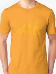 Sheldon Cooper - The Big Bang Theory Robot Evolution Unisex T-Shirt