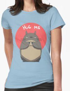 Hug Totoro Womens Fitted T-Shirt