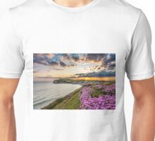 Freshwater Bay Sea Thrift Sunset Unisex T-Shirt