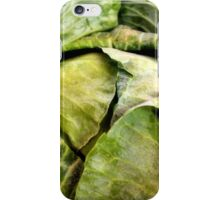 Cluster of Cabbages iPhone Case/Skin