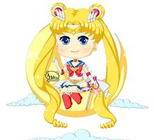 Super Sailor Moon by HelloTwinsies
