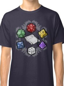 RPG DICE set and DICE PATTERN Classic T-Shirt