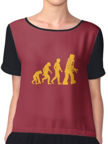 Sheldon Cooper - The Big Bang Theory Robot Evolution Chiffon Top