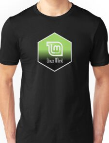 linux mint hexagonal hexagon design Unisex T-Shirt