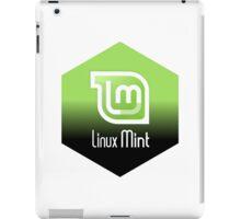 linux mint hexagonal hexagon design iPad Case/Skin