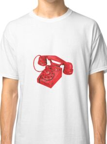 Telephone Vintage Drawing Classic T-Shirt