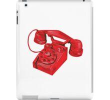 Telephone Vintage Drawing iPad Case/Skin