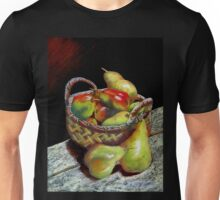 Apples and pears Pastel Painting Unisex T-Shirt