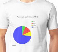 Criminal Minds Graph Unisex T-Shirt