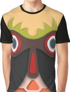 Lustiges abstraktes Gesicht Graphic T-Shirt