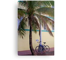 SOBE Beach Cruiser Metal Print