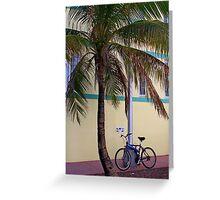 SOBE Beach Cruiser Greeting Card