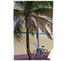 SOBE Beach Cruiser Poster