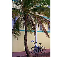 SOBE Beach Cruiser Photographic Print