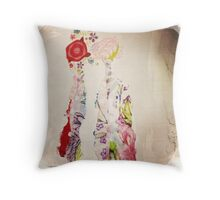 Falling in love** Throw Pillow