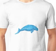 Dugong Drawing Unisex T-Shirt