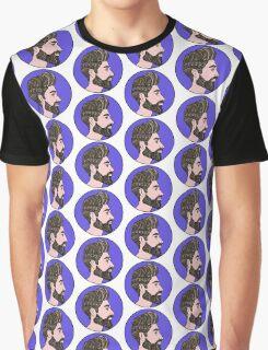 Hipster Portrait  Graphic T-Shirt