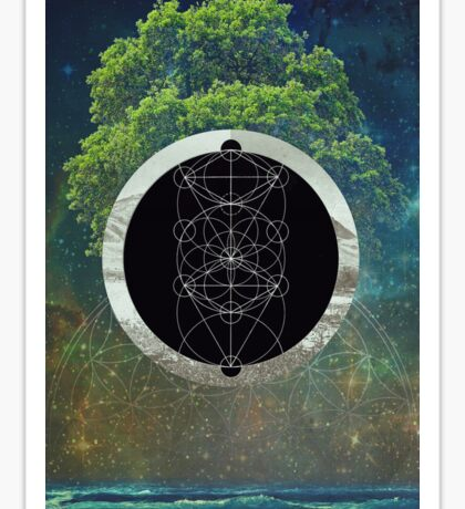 Facets of Creation Sticker