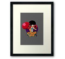 Afro Luffy Framed Print