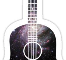 Galaxy Guitar. Sticker