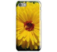 Holligold Blossoming Yellow Pot Marigold Flower iPhone Case/Skin