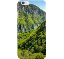 Limestone mountains iPhone Case/Skin
