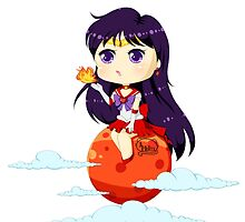 Super Sailor Mars by HelloTwinsies