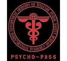 Sybil System Symbol Psycho Pass Photographic Print