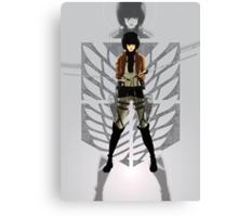 Warrior Mikasa Canvas Print