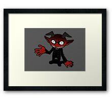 Little Ogre  Framed Print