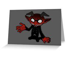 Little Ogre  Greeting Card