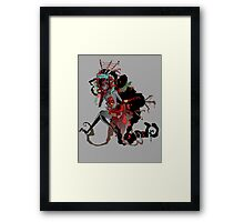 Cluttered Framed Print