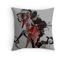 Cluttered Throw Pillow