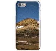 Mountain peak and stars iPhone Case/Skin