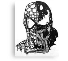 Spiderman vs Venom Canvas Print